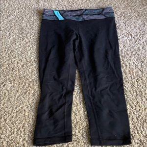 Ivivva cropped leggings reversible 2 for 1! Sz 12